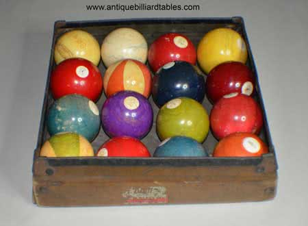 Antique Blatt Billiards Pool Ball Tray.