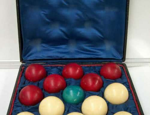 Antique French Ivory Game Ball Set c1880s