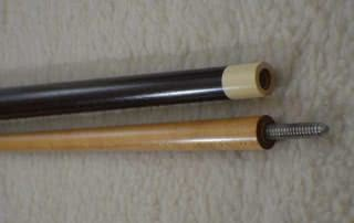 Antique Brunswick Merry Widow Pool Cue c1915