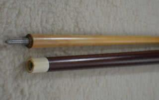 Antique Brunswick #28 Merry Widow Pool Cue c1915