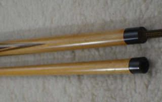 Antique Brunswick Titlist Points Pool Cue c1915