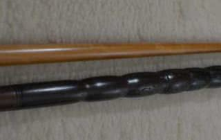 Antique European Jules Adorjan Pool Cue c1912