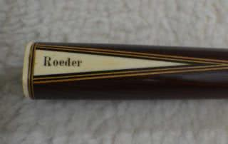 Antique European Rosewood Pool Cue c1900