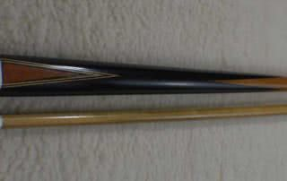 Antique European Ebony Pool Cue c1900