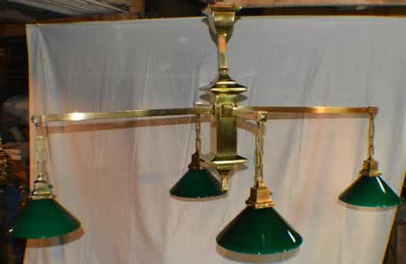 Antique Mission Billiard Light