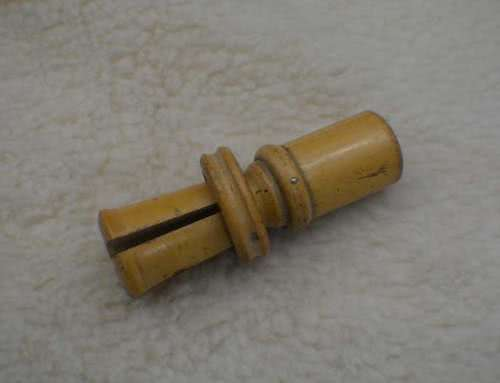 Antique Cue Tip Tool.