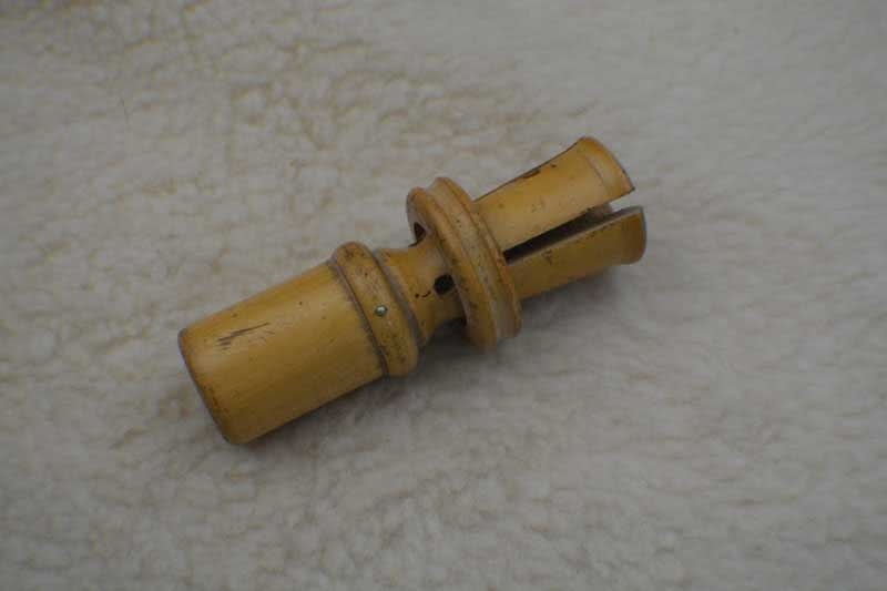Antique Pool Cue Tip Tool.