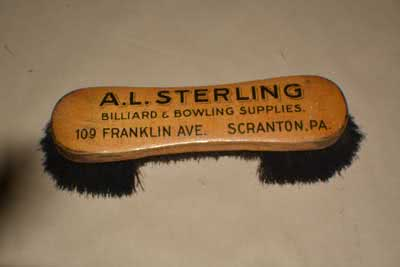 Antique Billiard Pool Table Brush 89