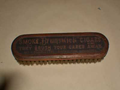 Antique Billiard Pool Table Brush 93