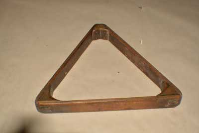 Antique Billiard Pool Table Triangle 100