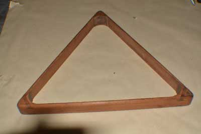 Antique Billiard Pool Table Triangle 101