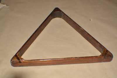 Antique Billiard Pool Table Triangle 118