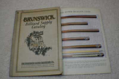 Antique Brunswick Balke Collender Billiard Company Supply Catalog c1928