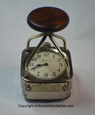 Antique Brunswick Balke Collender Company Billiard Ruby Time Keepers Pool Room Stamp