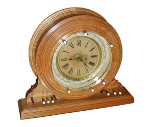 Antique Brunswick Balke Collender Company Time Price Register Clock