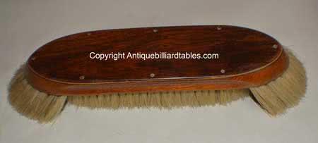 Antique Burroughes & Watts LTD Billiard Pool Table Brush