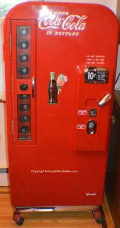Antique Vendo 81 A Collectible Coke Machine