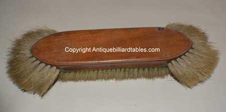 Antique F.J. Chapman Marked Billiard Table Brush