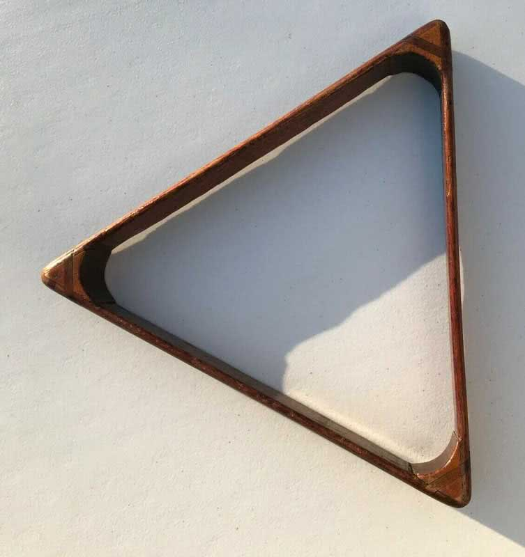Antique Billiard Triangle c1870s