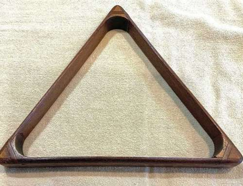 Antique Billiard Triangle – Splined Corners