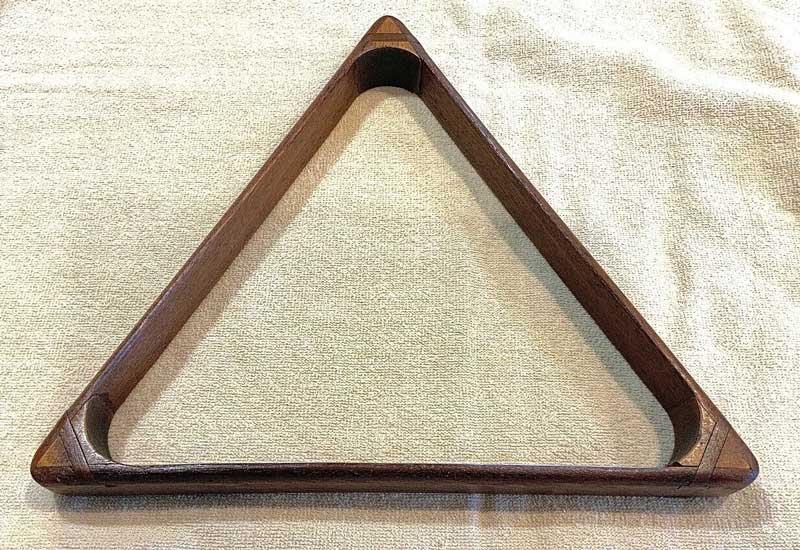 Antique Billiard Triangle - Splined Corners