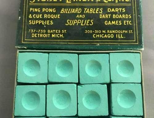 Antique Billiard Chalk – Sydney Laner & Co