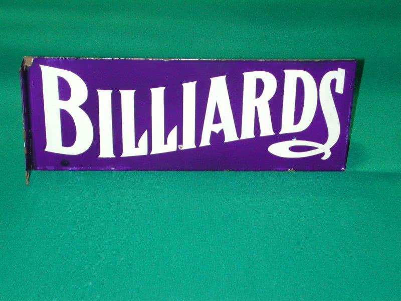 Billiard Sidewalk Sign