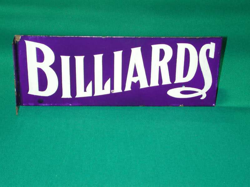 Billiard Sidewalk Sign