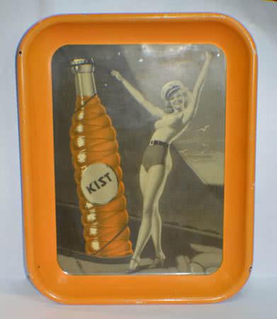 Collectible Orange Kist Tray