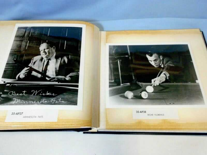 Famous Billiard Players Photo Alblum AP- WP Hollywood Photographs