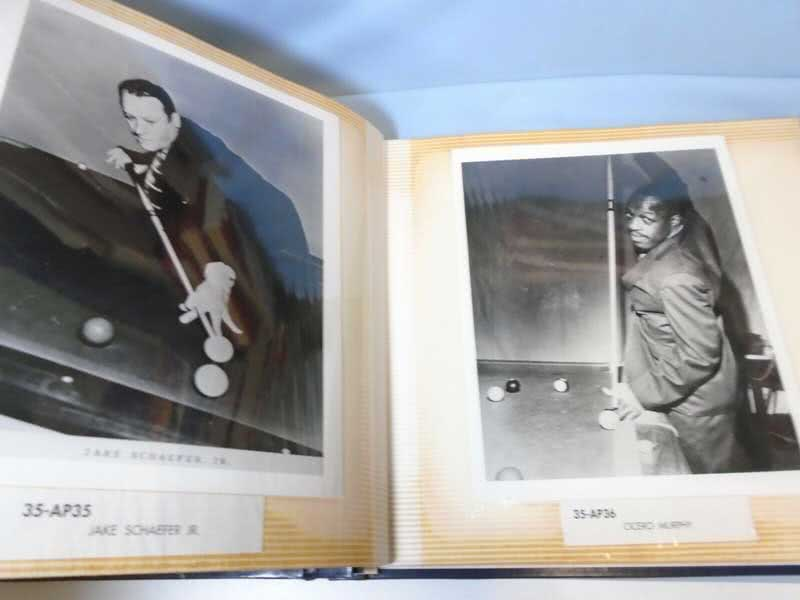 Famous Billiard Players Photo Alblum