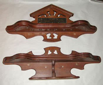 Antique A. GunkCach & Company Cue Rack