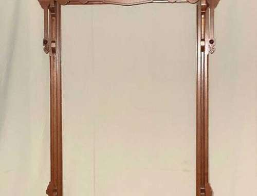 Antique H.W. Collender Co Pool Cue Rack c1870″s