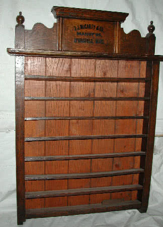 Antique JJ McCarty Billiard Ball Rack