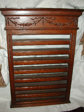 Antique Merle & Heaney Pool Ball Rack