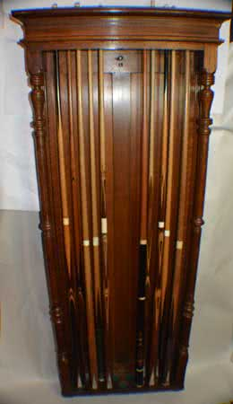 Antique Cue & Ball Racks