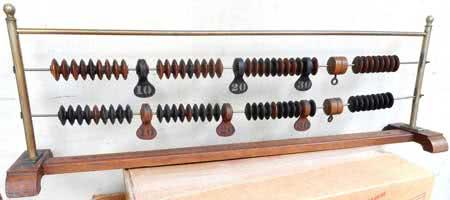 Antique Brunswick Billiard Score Keeper