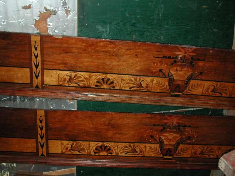 Antique Brunswick Brilliant Novelty Pool Table