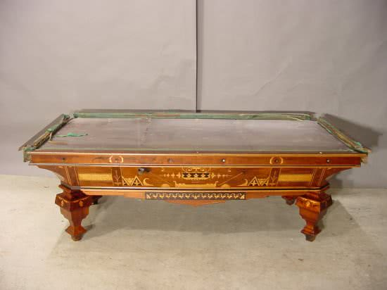 Merveilleux View Larger Image Antique Brunswick Balke Collender Billiard Company Early  Brilliant Novelty Pool Table ...