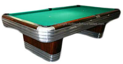 Antique Brunswick Balke Collender Centennial Pool Table