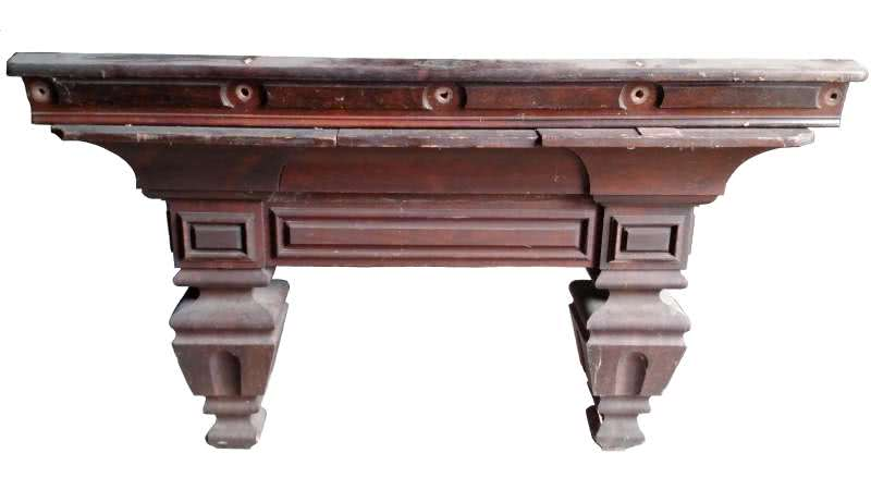Antique J.E. McIntosh Pool Table