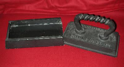 Antique Billiard Table Felt Iron