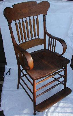 Antique Bentwood Billiard Chair