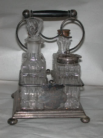 Antique Billiard-room-cruet-set