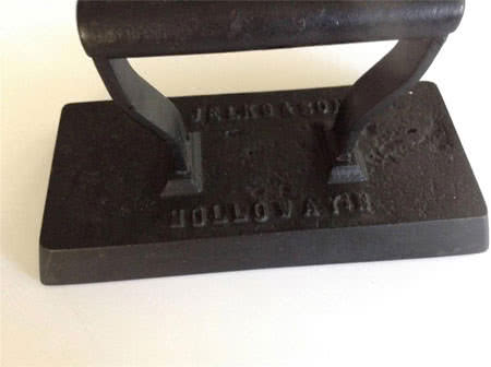 Antique Billiard Table Flat Iron