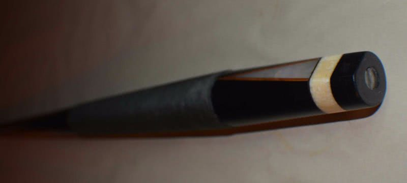 Antique Brunswick #220 Fish Pole Pool Cue
