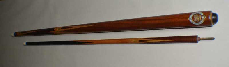 Antique Brunswick #360 Two Piece Billiard Cue Dead Straight