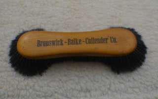 Antique Brunswick Balke Collender Company Billiard Brush Marked Germany