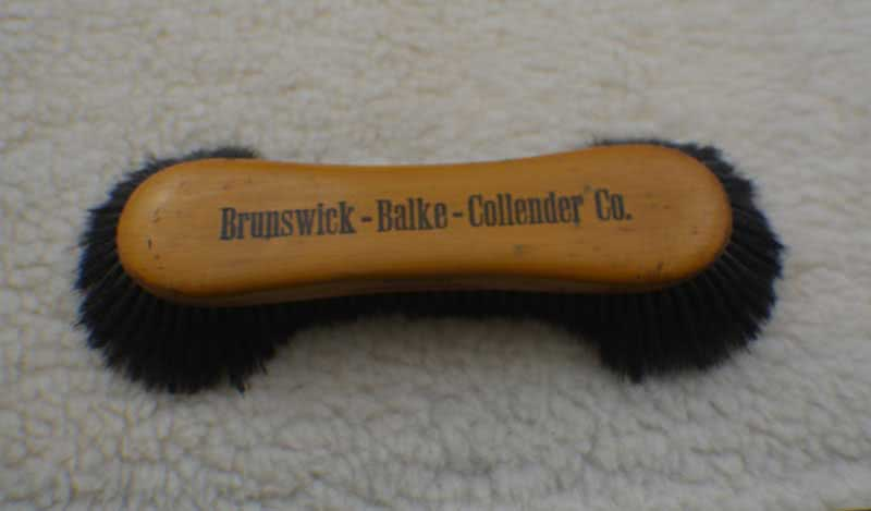 Antique Brunswick Balke Collender Pool Table Brush Marked Germany