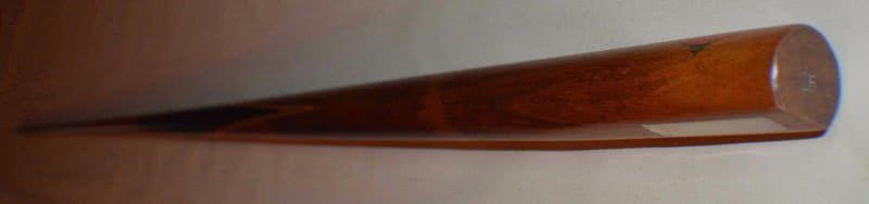 Antique Brunswick Triple Butterfly Pool Cue